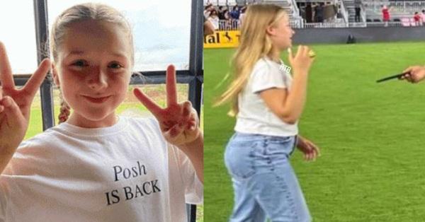 Ngoại hình khi lên 10 của con gái David Beckham tiếp tục gây chú ý