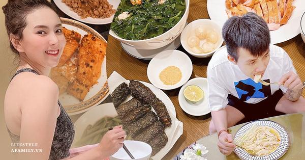 Chuyện nhà mùa dịch: Những nhân vật nổi tiếng ngày thường ăn uống sang chảnh nhưng giãn cách rồi thì ở nhà