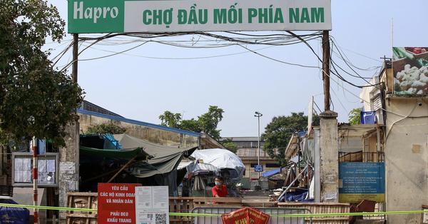 Hà Nội: Thông báo tìm người đến mua trứng tại chợ đầu mối Đền Lừ