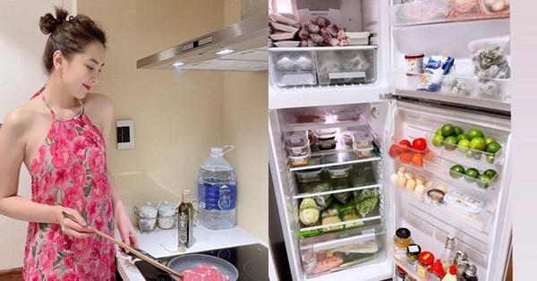 Nữ MC đẹp nhất VTV khoe chiếc tủ lạnh mùa dịch khiến hội chị em ngất ngây, khoang nào ra khoang đó cực gọn gàng, ngăn nắp