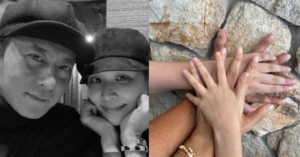 Vợ Jang Dong Gun lần đầu tiên chia sẻ hình ảnh cùng ông xã sau bê bối