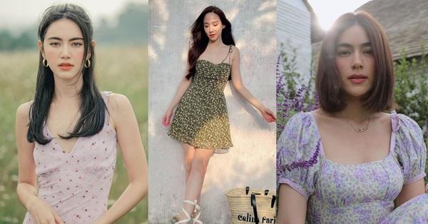 4 kiểu váy hè mỹ nhân Thái hay diện nhất: Toàn mẫu trẻ trung và rất sang chảnh