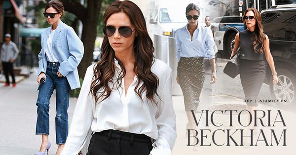 Victoria Beckham là tượng đài thời trang công sở: Không