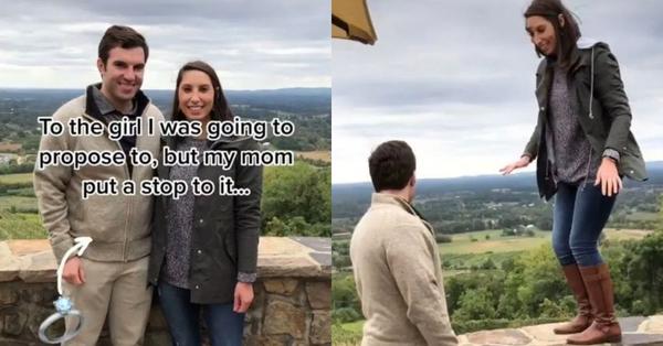 Con trai chuẩn bị cầu hôn bị mẹ hét lên 3 tiếng liền rút nhẫn lại, dân mạng biết chuyện đồng loạt chúc mừng cô gái