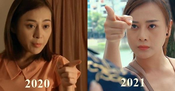 Cú chỉ tay huyền thoại của Phương Oanh vào mặt bạn diễn, 1 năm trước bị ghét, bây giờ lại được khen