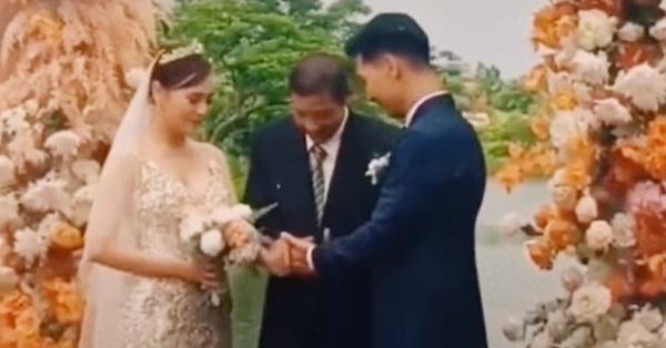 Hương vị tình thân: Clip ông Sinh đặt tay Nam vào tay Long trong đám cưới thế kỷ, kết phim khác với bản gốc?