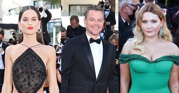 Thảm đỏ Cannes 2021 ngày 3: Siêu mẫu diện đồ xuyên thấu nhưng có nổi bằng sao nhí Hollywood khoe vòng 1 khủng?