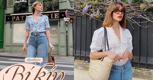 4 kiểu áo sơ mi mà gái Pháp thích mặc nhất, sắm theo đảm bảo style vừa trẻ vừa sang
