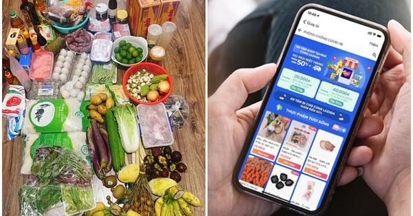 Giải pháp giúp các bà nội trợ đi chợ online dễ dàng, tiết kiệm