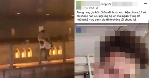 Lan truyền status của mẹ thanh niên bị đạp xuống sông chết ở Nhật Bản, vừa đăng ảnh cầu may mắn vài tiếng sau xuất hiện video con trai qua đời