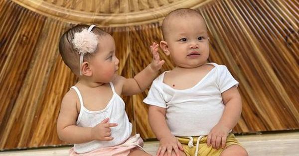 Hồ Ngọc Hà khoe ảnh cặp sinh đôi nhân dịp 9 tháng tuổi, Leon bất ngờ được đề nghị học theo Trấn Thành diễn hài