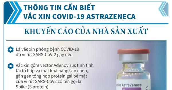 [Infographic] - Toàn bộ thông tin cần biết về các loại vaccine COVID-19 Việt Nam đang tiêm