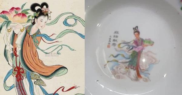 Thì ra cô tiên quen thuộc trên bát đĩa ngày xưa nhà ai cũng có là nhân vật không hề tầm thường, sự tồn tại mang đầy ý nghĩa