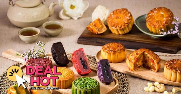 5 loại bánh Trung thu đang được sale cao nhất 50% trên Shopee