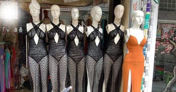 Khi váy áo được mỹ nhân Việt mặc hôm nay, hôm sau bán đầy ngoài chợ...