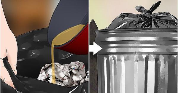 6 cách xử lý dầu ăn thừa đơn giản, không gây tắc cống