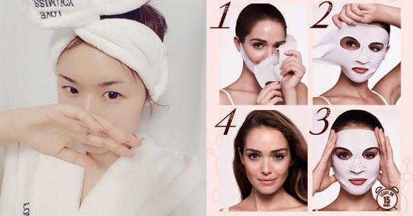 Không thích các loại mặt nạ giấy ''ướt nhẹp'', các nàng có thể đổi gu sang dùng mặt nạ khô cực tiện này