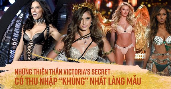 Những thiên thần Victoria''s Secret có thu nhập ''khủng'' nhất làng mẫu