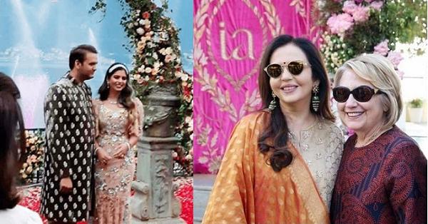 Câu chuyện thú vị đằng sau đám cưới đình đám nhất Ấn Độ được cả Hillary Clinton cùng Beyonce tới dự
