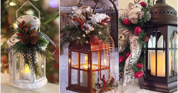 Bật mí món đồ trang trí Noel mới toanh mang tên đèn lồng: Đa dạng phong cách giúp ngôi nhà đẹp lung linh