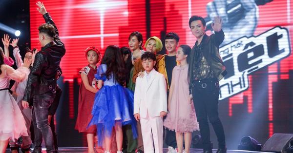 Bất ngờ với kết quả bình chọn top 7 thí sinh bước vào Bán kết The Voice Kids 2018