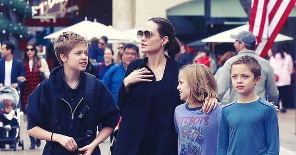 Angelina Jolie đưa con ruột đi chơi sau khi tố chồng cũ từng ghét bỏ Pax Thiên