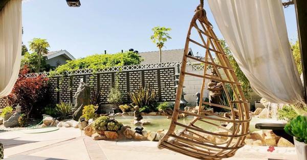 Ca sĩ Hồng Nhung khoe biệt thự triệu đô cùng sân vườn xanh mát cây cối ở Mỹ