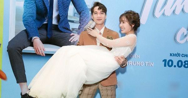 S.T gây sốc khi bồng bế, hôn tay ''hot girl Bolero'' Jang Mi cực tình cảm