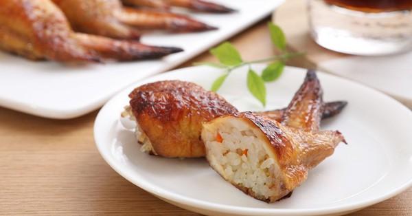 Tết năm nay hãy làm cả nhà bất ngờ với món cánh gà nhồi xôi ngon lạ này nhé!