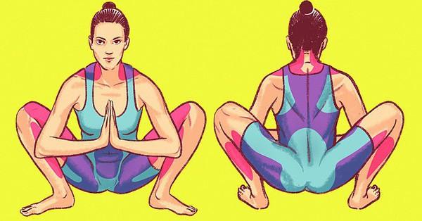 Chị em muốn có cơ thể vừa linh hoạt lại trông trẻ đẹp hơn tuổi thật thì tập ngay 8 động tác này