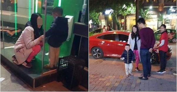 Cộng đồng mạng phẫn nộ với người mẹ trẻ bỏ con ở cây ATM giữa đêm rét, đoán nguyên nhân do cãi nhau với chồng?