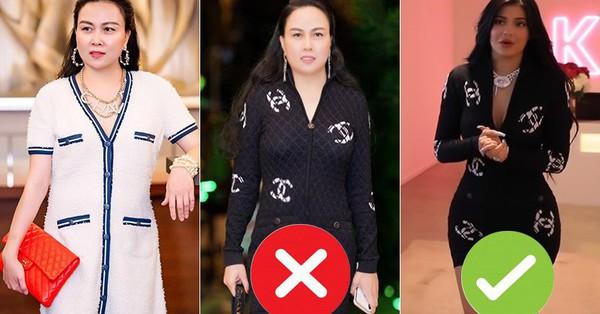 Chi tiền tỷ sắm hàng hiệu cũng không quan trọng bằng việc khéo bóp váy