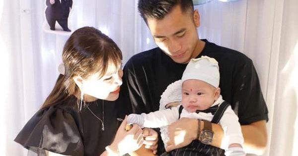 Em ruột Bùi Tiến Dũng lần đầu công khai con trai đã tròn 1 tháng tuổi sau tin đồn mang thai của bạn gái