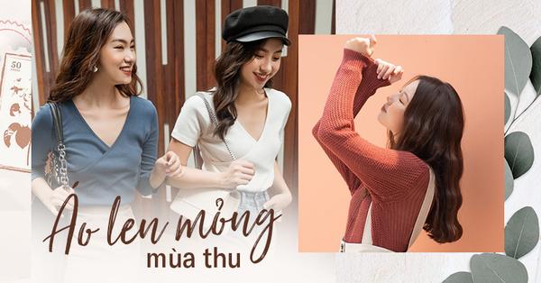 Lượn lờ shopping 12 mẫu áo len mỏng từ các thương hiệu Việt: Vừa ấm vừa xinh lại đúng ngay thời điểm gió lạnh đầu mùa