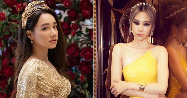 """Nhã Phương – Nam Em dự chung sự kiện: Cùng một concept nhưng người như nữ thần, người lại """"tụt dốc"""" nhan sắc vì makeup"""