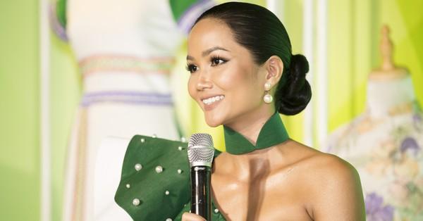 Không tiếp tục đồng hành cùng Hoa hậu Hoàn Vũ Việt Nam 2019, H''Hen Niê rạng rỡ đánh tan tin đồn mang thai
