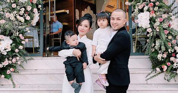 Gia đình Trang Pilla - Thế Bảo đẹp chất ngất đi dự đám cưới