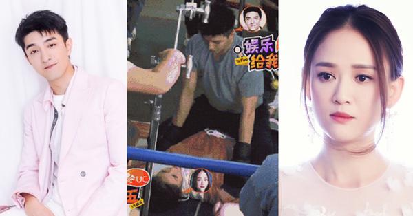 Trần Kiều Ân bị trai trẻ kém 14 tuổi đè ra sàn, tư thế nhạy cảm làm người xem đỏ mặt