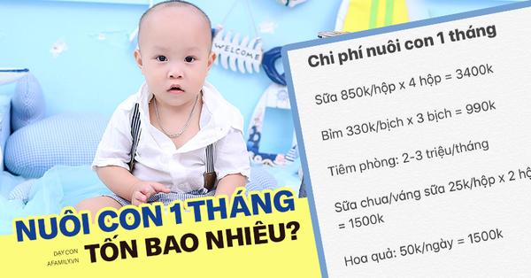 Mẹ Hà Nội chi 10 triệu nuôi con mỗi tháng, có tháng không còn đồng nào vẫn phải dồn hết cho con