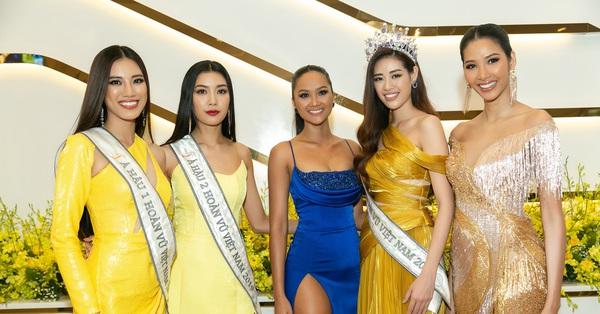 Ngỡ ngàng trước màn đọ sắc của dàn Hoa hậu Hoàn vũ 2 mùa: H''Hen Niê đẹp đẳng cấp bên cạnh tân Hoa hậu Khánh Vân