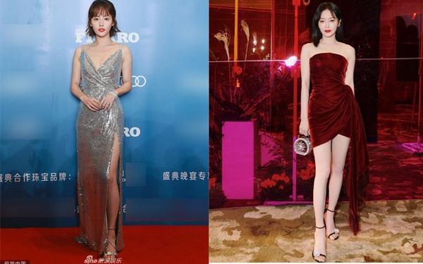 Hai người đẹp phim Diên Hi Công Lược cùng hội ngộ tại thảm đỏ thời trang: Khí chất