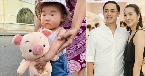 Lộ diện cháu gái của Tăng Thanh Hà: Mắt hí, má bánh bao ai thấy cũng yêu
