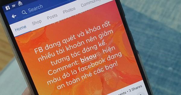 Bình luận ''bisou'' để biết Facebook an toàn hay không chỉ là trò lừa đảo!