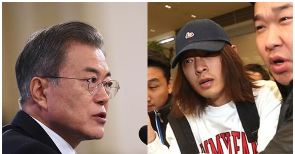 Tổng thống Hàn Quốc ra công điện khẩn liên quan tới scandal trốn thuế, tình dục của Seungri, Jung Joon Young và vụ tự tử của Jang Ja Yeon