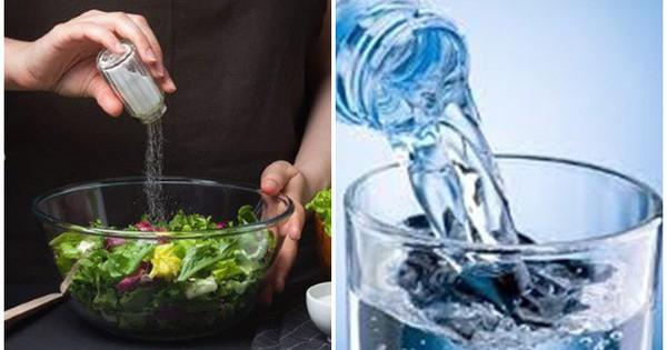 Ăn mặn, ít uống nước là đang 'nuôi' sỏi niệu