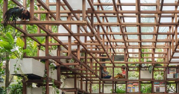 VAC Library: Nơi tích hợp vườn – ao – chuồng rộng 55m² vô cùng độc đáo tại khu đô thị An Hưng, Hà Nội
