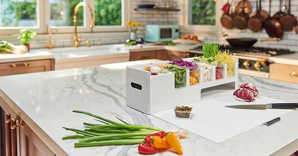 Prepdeck: Hệ thống hộp lưu trữ giúp bạn chuẩn bị bữa ăn hoàn chỉnh lại vô cùng sạch sẽ và tiện lợi