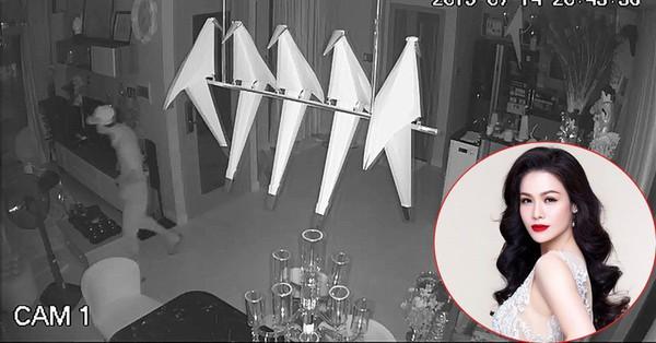 Nhật Kim Anh công khai clip từ camera an ninh sau khi bị trộm đột nhập cuỗm đi tài sản 5 tỷ đồng