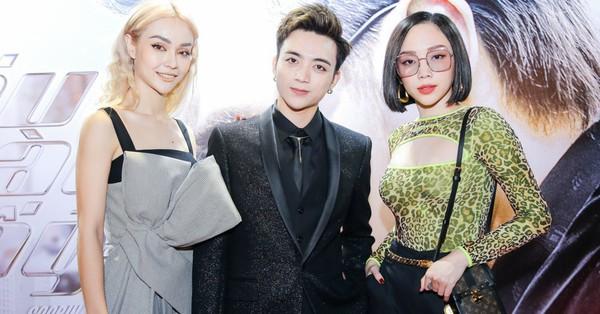 Tóc Tiên ăn diện cực ''hổ báo'' đến mừng Soobin Hoàng Sơn ra mắt MV gắn mác 16+ vì có cảnh nữ chính bị bạo hành