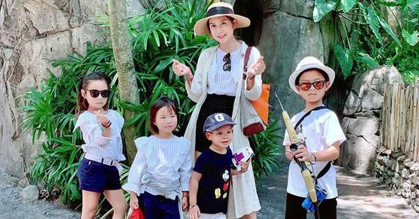 Bí quyết nuôi con ăn dặm đủ chất của mẹ 4 con Minh Hà với quy tắc ''đèn giao thông''